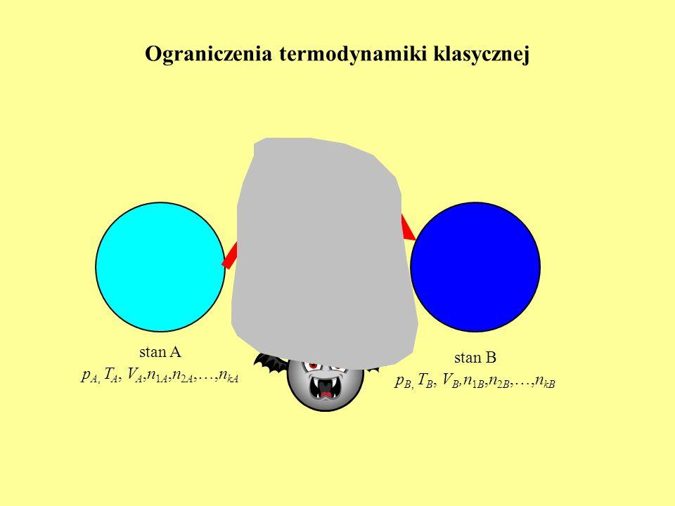 rozwinięcie w szereg: Tworzenie trwałych uporządkowań w układach dalekich od stanu równowagi (struktur dyssypatywnych) Nieliniowa termodynamika procesów nierównowagowych