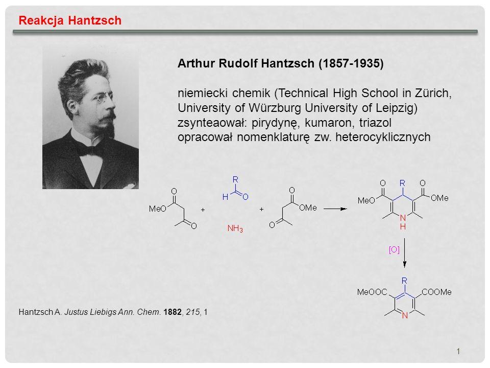 Reakcja Hantzsch – mechanizm reakcji 2