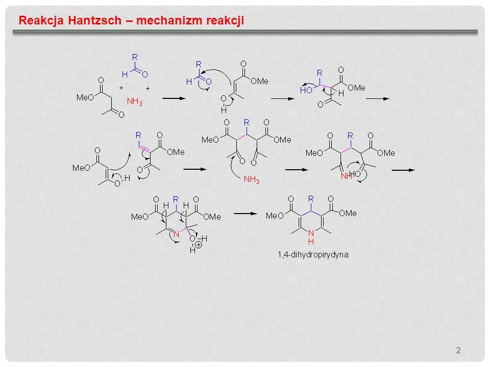 3 Reakcja Hantzsch – synteza
