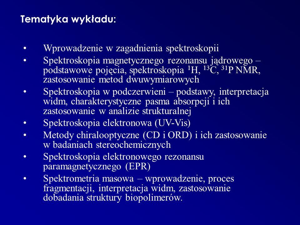 Zalecana literatura: 1.W.Zieliński, A.