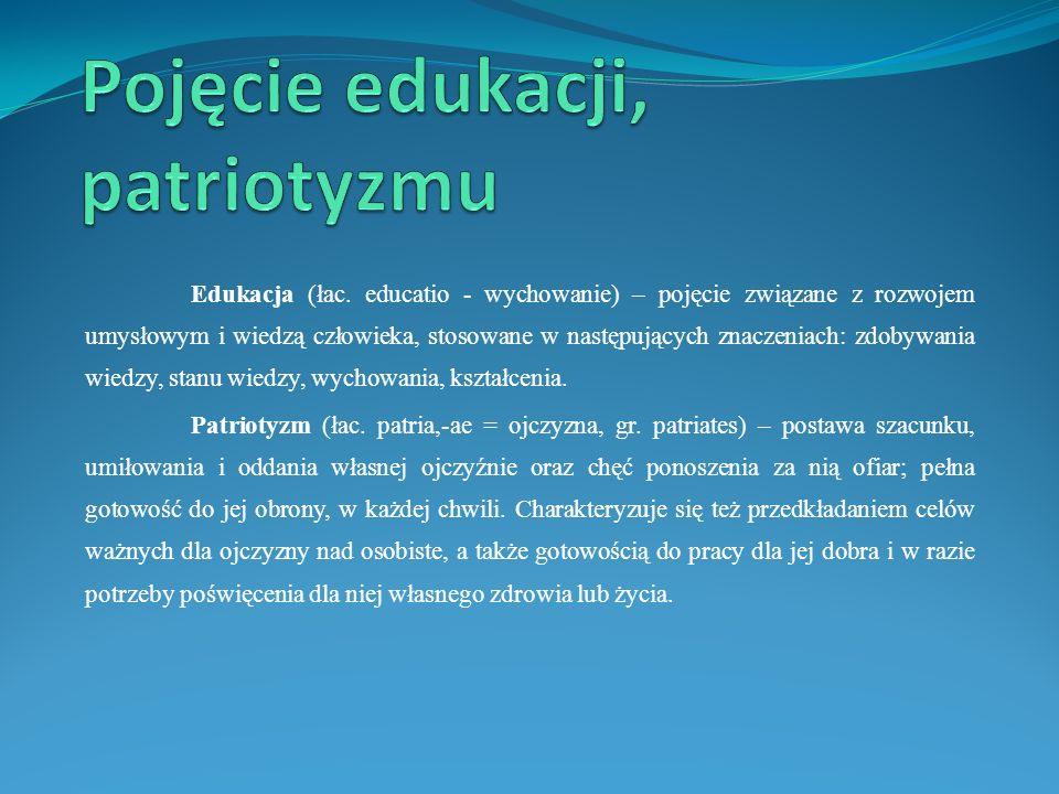 Edukacja (łac. educatio - wychowanie) – pojęcie związane z rozwojem umysłowym i wiedzą człowieka, stosowane w następujących znaczeniach: zdobywania wi
