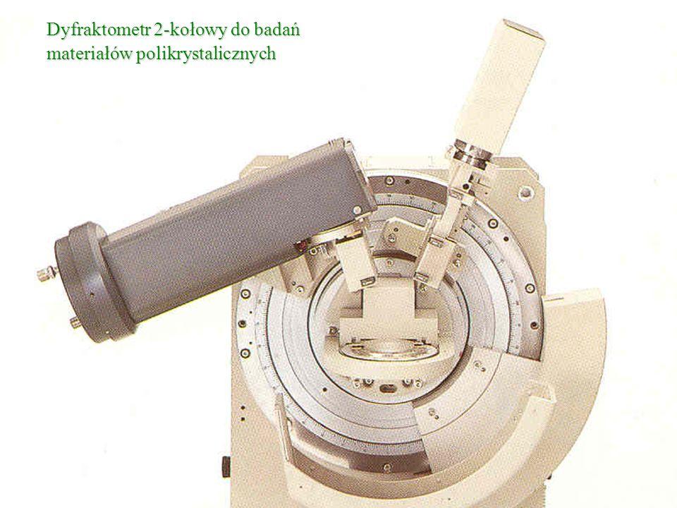 Dyfraktometr 2-kołowy do badań materiałów polikrystalicznych