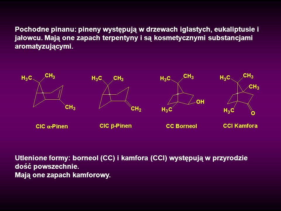 Syntetyczne piżma zawierają grupę nitrową przyłączoną do pierścienia benzenowego i mają bardzo subtelne zapachy (CCLIV).