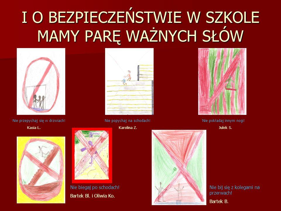 DZIĘKUJEMY ZA UWAGĘ DZIĘKUJEMY ZA UWAGĘ Korzystaliśmy z następujących materiałów: - www.google.pl www.google.pl - www.pierwszapomockursy.pl www.pierwszapomockursy.pl - multibook Nowe JUŻ W SZKOLE, klasa 1 Używaliśmy: - laptopa i komputerów w pracowni, - rzutnika i telewizora, - cyfrowego aparatu fotograficznego, - kamery, - czytnika kart pamięci, - skanera.