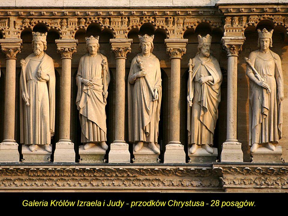 Posągi boczne portalu Św. Anny Portal św. Anny