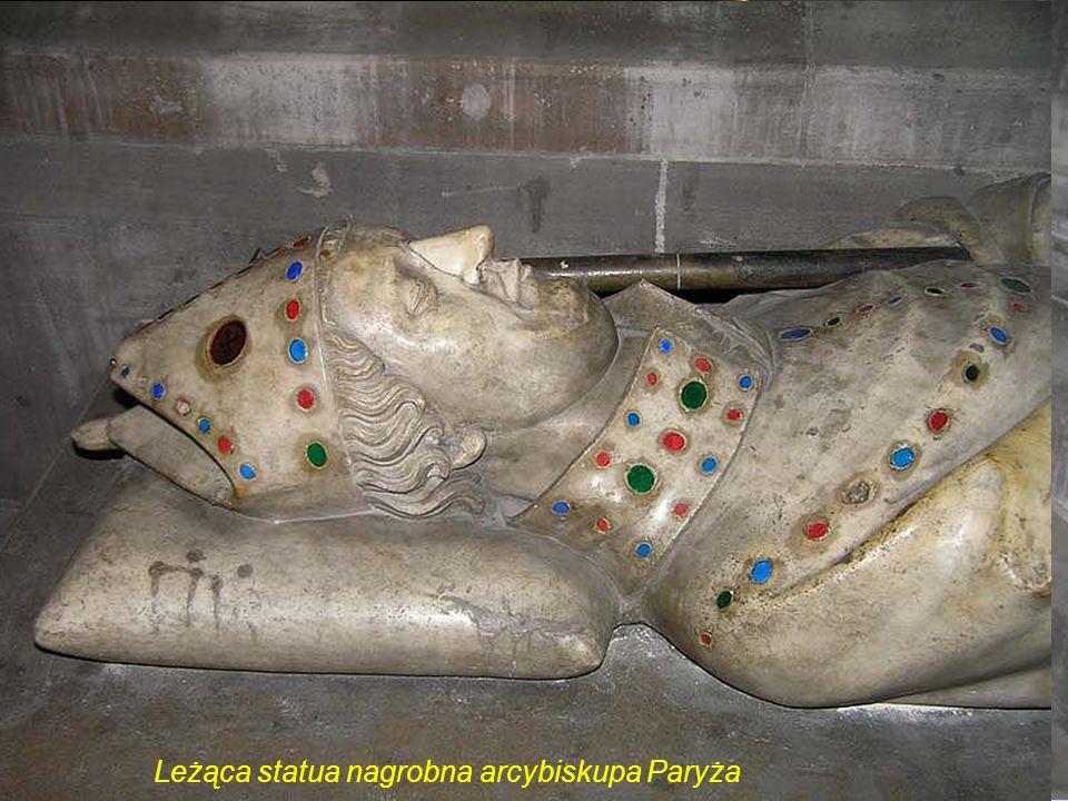 Kaplica Saint Marcel. Grobowiec kardynała Jean-Baptiste de Belloy arcybiskupa Paryża