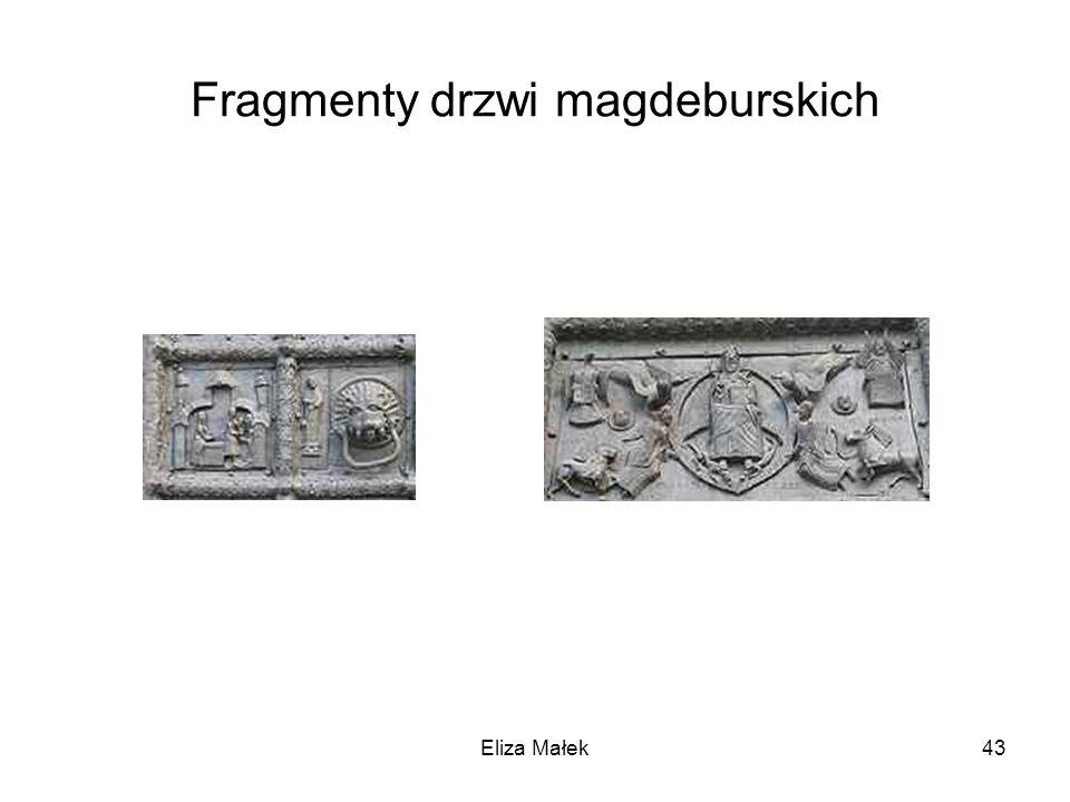 Fragmenty drzwi magdeburskich Eliza Małek43