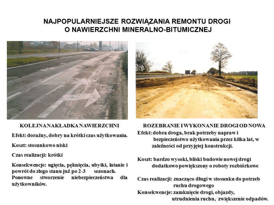 PRZYKŁAD RECYKLINGU W POŁĄCZENIU Z GŁĘBOKĄ STABILIZACJĄ ISTNIEJĄCYCH MAS DROGOWYCH Pawłowice Śląskie, ul.