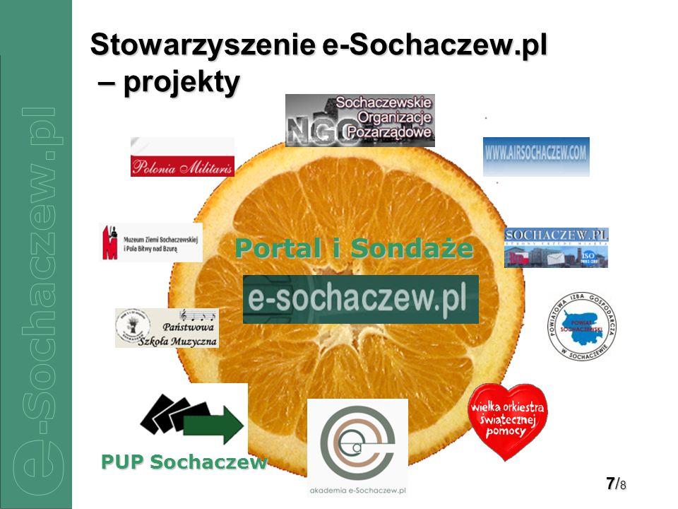 7/87/87/87/8 Stowarzyszenie e-Sochaczew.pl – projekty Portal i Sondaże PUP Sochaczew