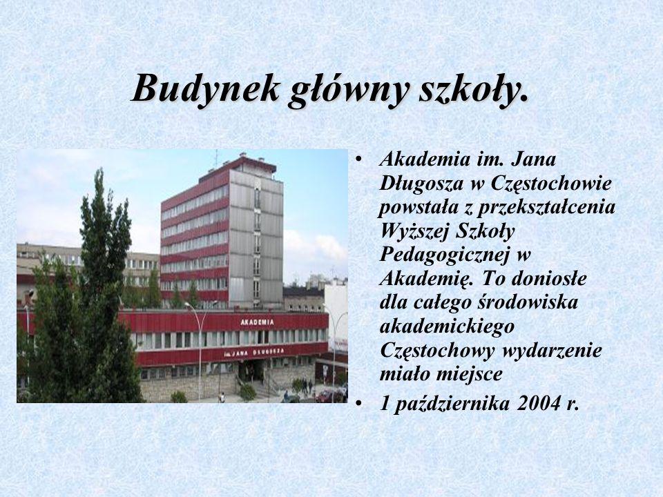 Prezentacja Prezentacja dotycząca Akademii im. Jana Długosza w Częstochowie. Wykonawca: M MM Małgorzata Włodarczyk