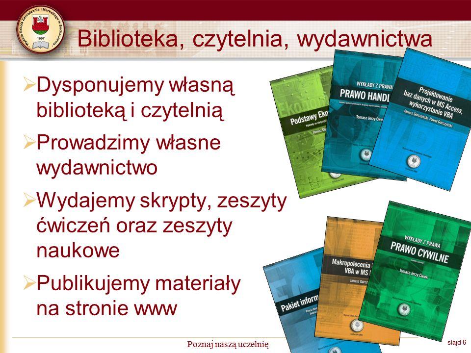 slajd 17 Poznaj naszą uczelnię Średnia ocen absolwentów wg gmin