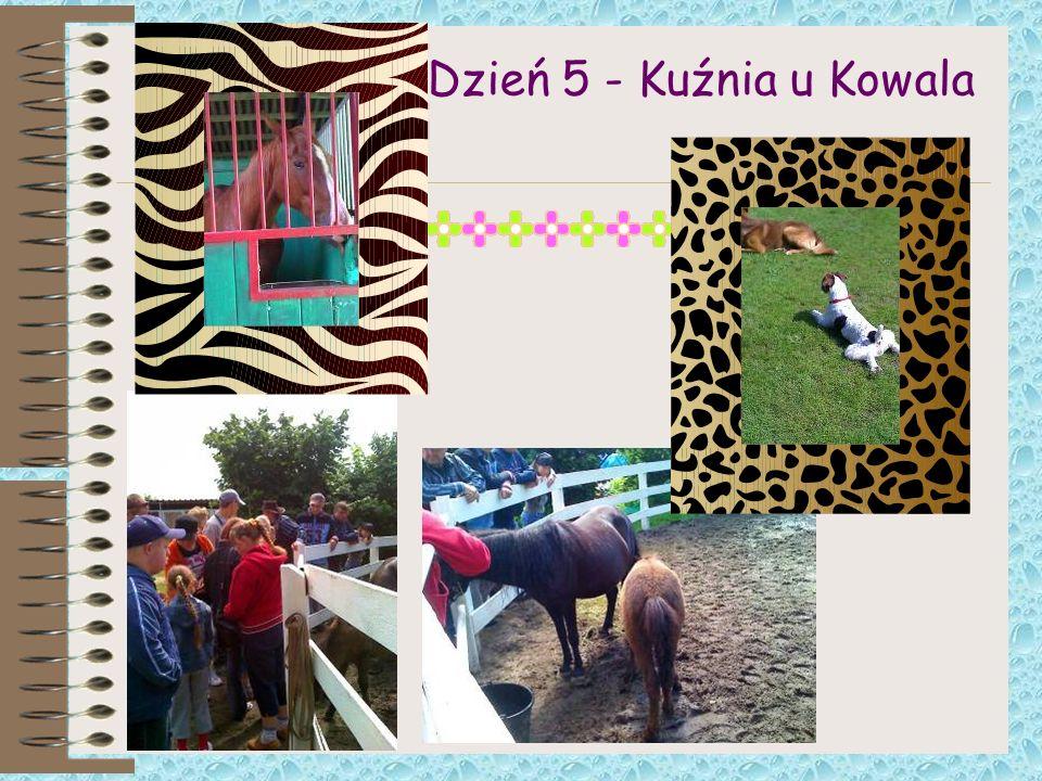 Dzień 5 - Kuźnia u Kowala