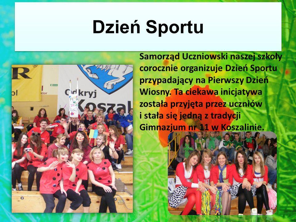 Dzień Sportu Samorząd Uczniowski naszej szkoły corocznie organizuje Dzień Sportu przypadający na Pierwszy Dzień Wiosny.