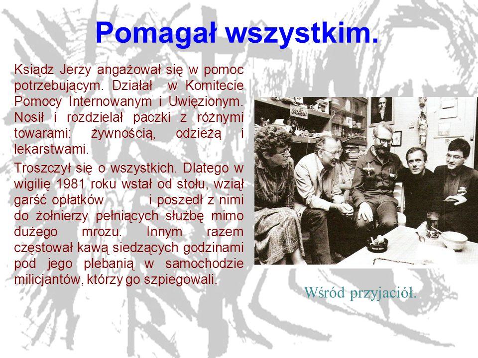 17 Miejsce uprowadzenia.W miejscu porwania księdza Jerzego Popiełuszki postawiono później krzyż.