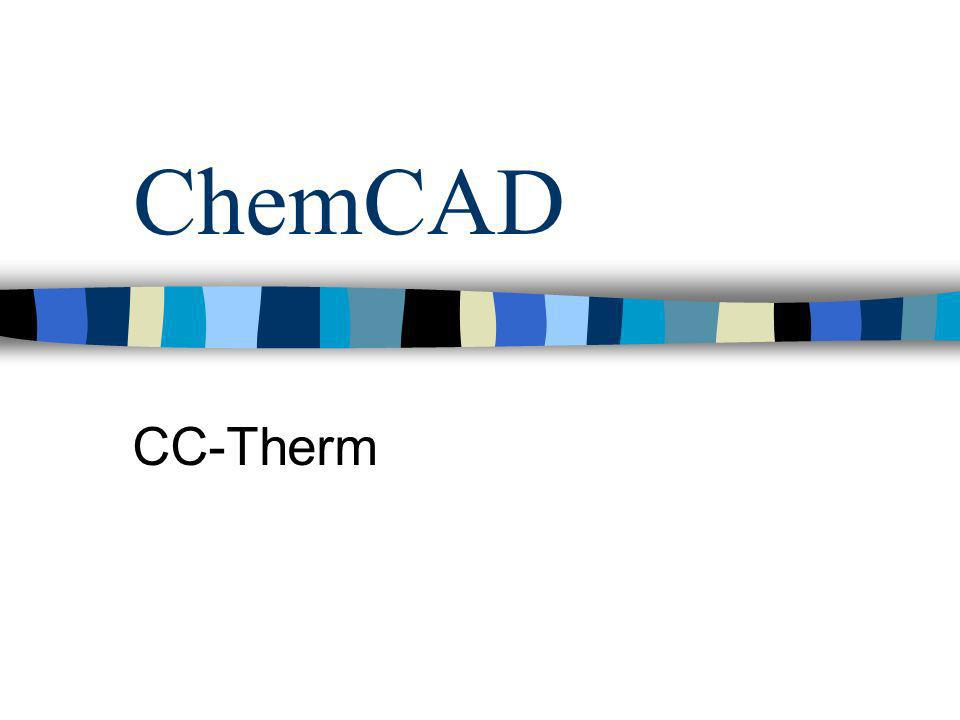 ChemCAD CC-Therm