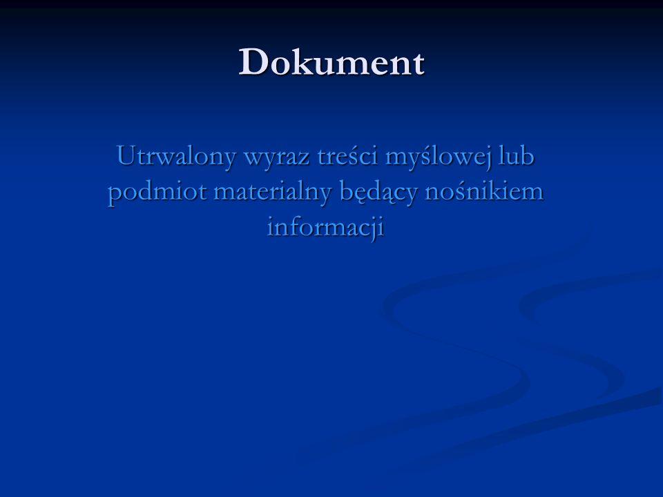 Rodzaje dokumentów (pochodzenie lub zapis) Prymarne (oryginalne) Prymarne (oryginalne) Pochodne (bibliografia) Pochodne (bibliografia) Wtórne (kserokopie, fotokopie) Wtórne (kserokopie, fotokopie) Graficzne (utrwalone za pomocą znaków np.