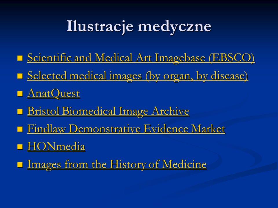 Ilustracje medyczne Scientific and Medical Art Imagebase (EBSCO) Scientific and Medical Art Imagebase (EBSCO) Scientific and Medical Art Imagebase (EB
