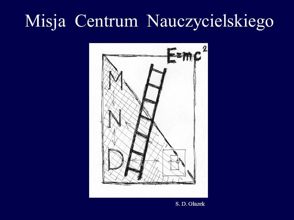 Misja Centrum Nauczycielskiego S. D. Głazek