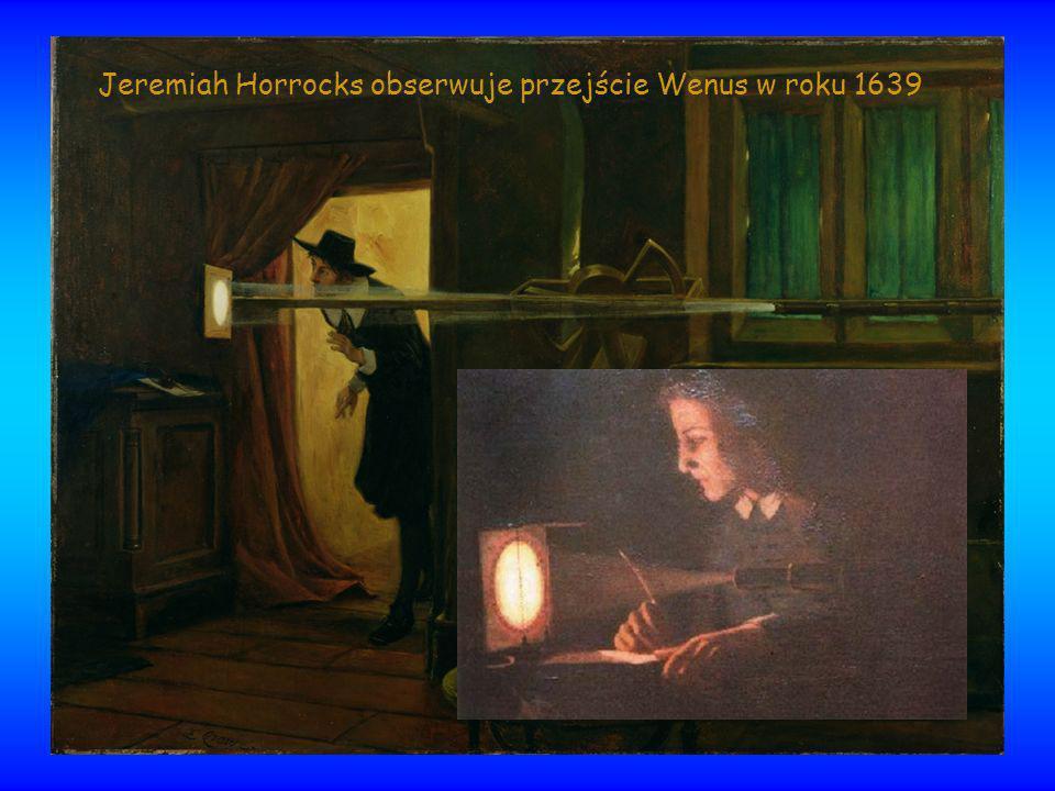 Jeremiah Horrocks obserwuje przejście Wenus w roku 1639