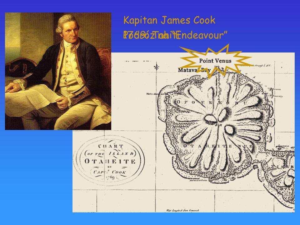 Podróż na Endeavour Kapitan James Cook 1769: Tahiti