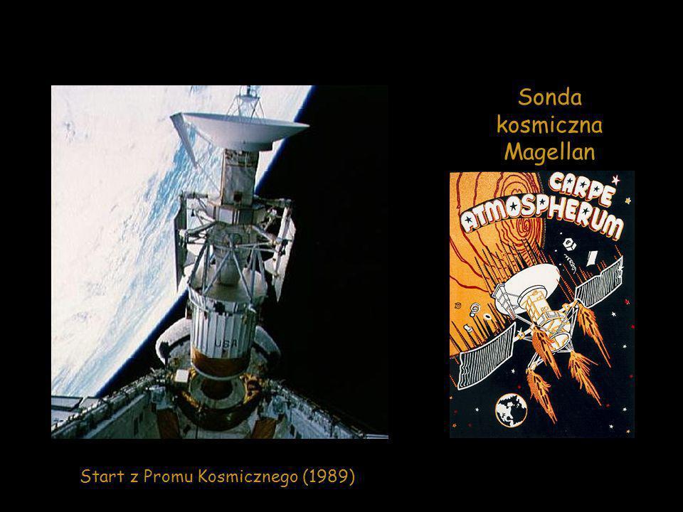 Sonda kosmiczna Magellan Start z Promu Kosmicznego (1989)