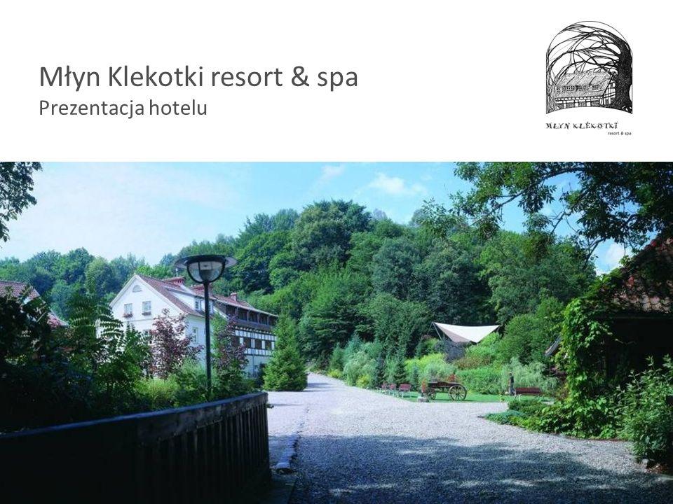 Młyn Klekotki resort & spa Prezentacja hotelu
