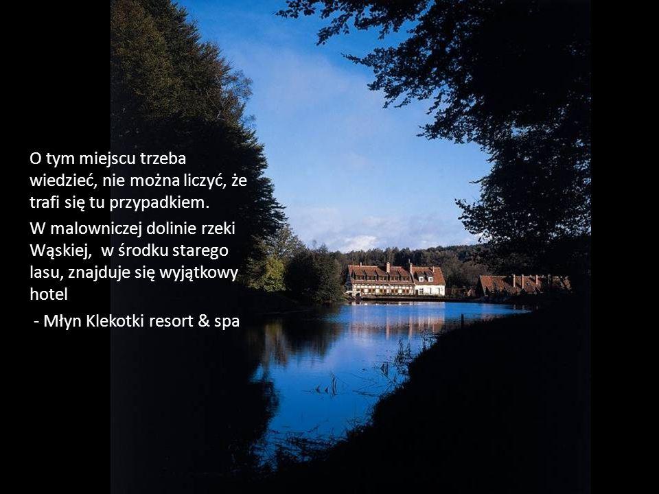 Majątek młyński z 1619 roku został przekształcony w komfortowy hotel SPA z zachowaniem autentycznych elementów architektury i wystroju.