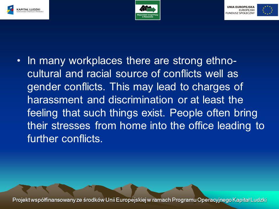 Różnice w systemach nadzoru stylów pomiędzy departamentami może być przyczyną konfliktów.