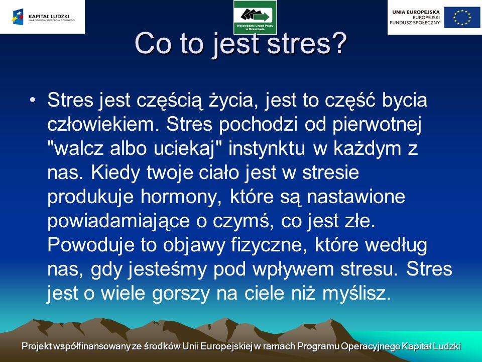 Co można zrobić, aby wyeliminować stres.