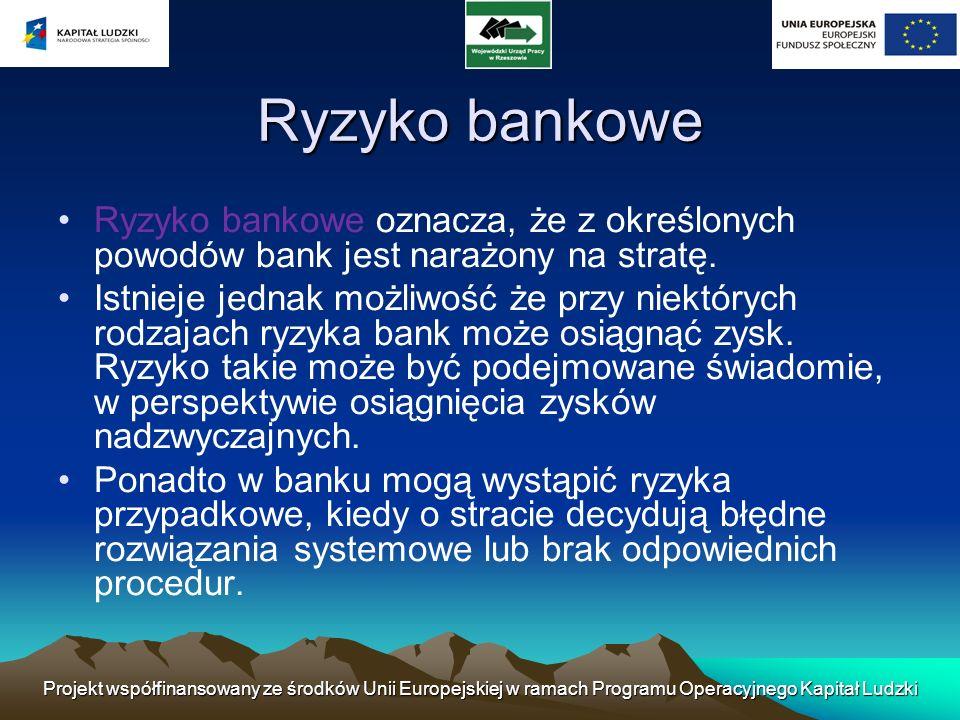 Projekt współfinansowany ze środków Unii Europejskiej w ramach Programu Operacyjnego Kapitał Ludzki Nadzór bankowy Komisja Nadzoru Finansowego Komisja Nadzoru Finansowego ma za zadanie m.in.