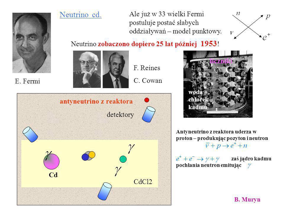 ……. i wreszcie odkryto ostatni z kwarków – kwark t Rok 1995 Dzięki uprzejmości C. Schwanenbergera