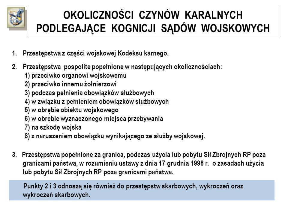 ALGORYTM POSTĘPOWANIA DYSCYPLINARNEGO W TRYBIE UPROSZCZONYM Wezwanie obwinionego do raportu dyscyplinarnego z podaniem terminu i miejsca jego przeprowadzenia oraz przedstawienie mu zarzutu popełnienia przewinienia dyscyplinarnego Organ orzekający w I instancji Przełożony dyscyplinarny pisemnie ustnie RAPORT DYSCYPLINARNY Zapoznanie obwinionego z całością materiałów sprawy Rzecznik dyscyplinarny Organ orzekający w I instancji Przełożony dyscyplinarny Obwiniony Możliwość wysłuchania rzecznika dyscyplinarnego Możliwość wysłuchania obwinionego i jego obrońcy Wydanie orzeczenia o ukaraniu z pouczeniem o prawie do złożenia sprzeciwu Możliwość złożenia sprzeciwu przez obwinionego Wniesienie sprzeciwu: konieczność wystąpienia o wszczęcie postępowania w trybie zwykłym do kolejnego przełożonego dyscyplinarnego Organ orzekający w I instancji Przełożony dyscyplinarny