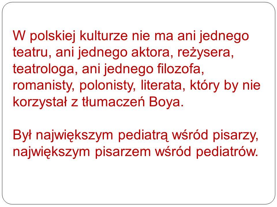 W polskiej kulturze nie ma ani jednego teatru, ani jednego aktora, reżysera, teatrologa, ani jednego filozofa, romanisty, polonisty, literata, który b