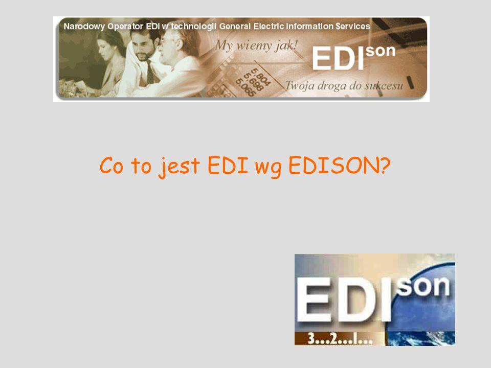 Co to jest EDI wg EDISON?