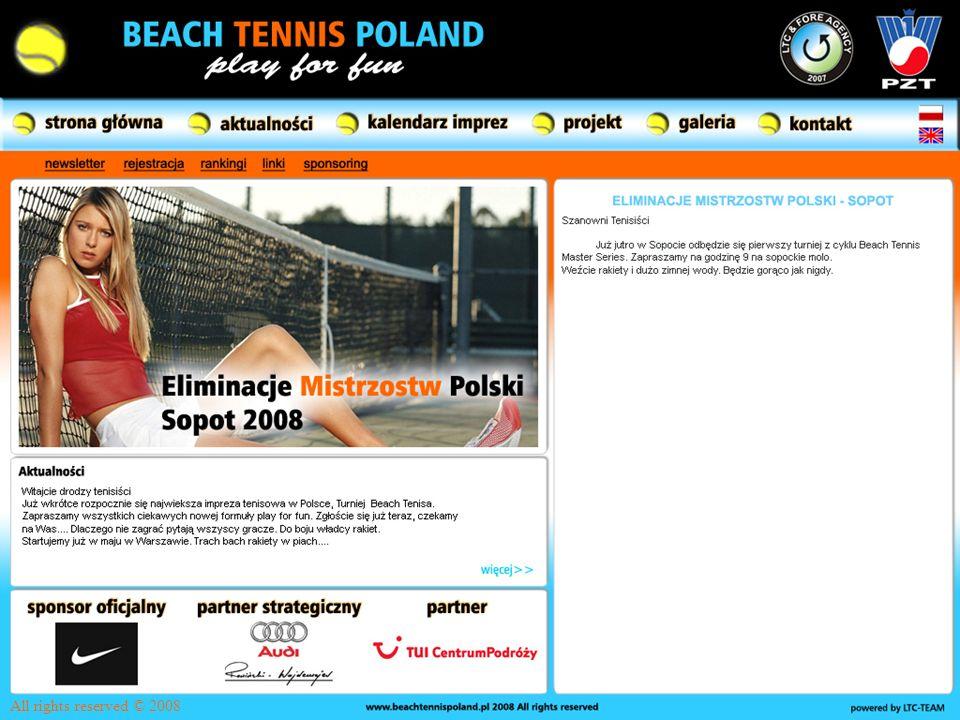 Przedstawienie prezentacji Sprzęt – Kort – Rakiety – Piłki Beach tennis na świecie – Historia – Mistrzostwa Europy – BT w Europie – BT w USA Co chcemy zrobić w Polsce.