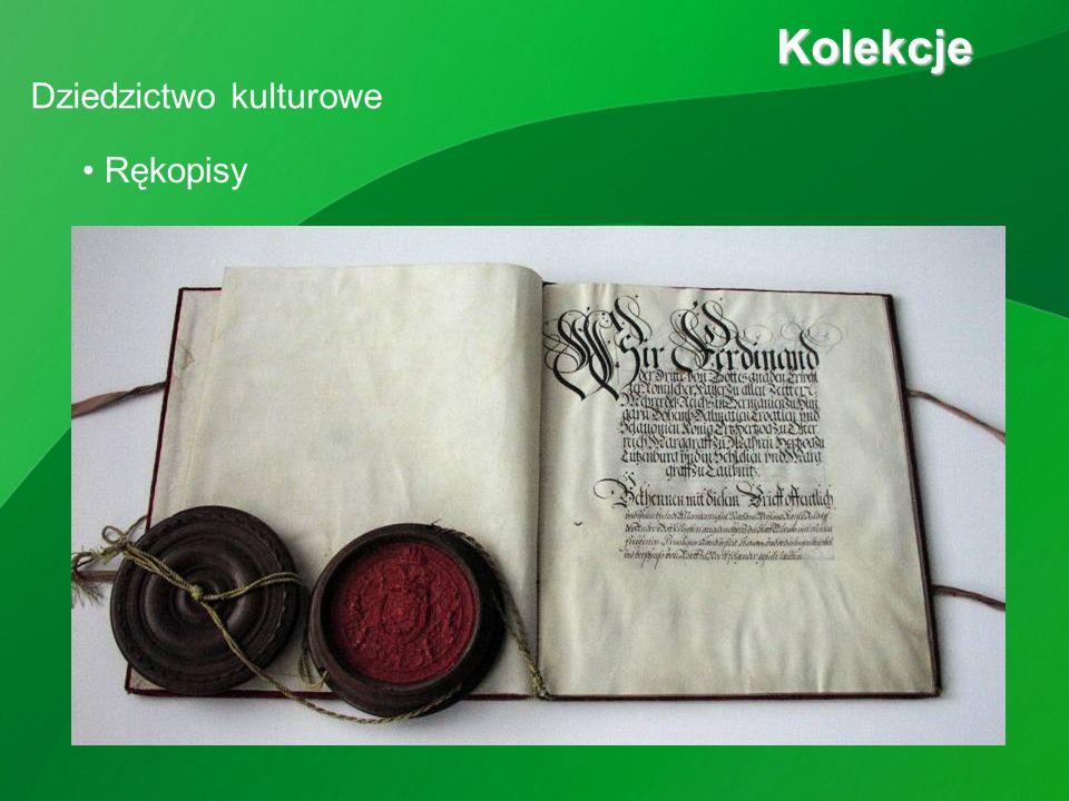 Dziedzictwo kulturowe Kolekcje Kolekcje Rękopisy