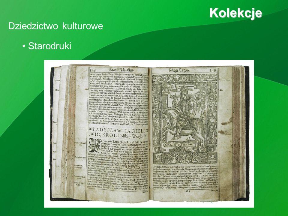 Starodruki Kolekcje Kolekcje Dziedzictwo kulturowe