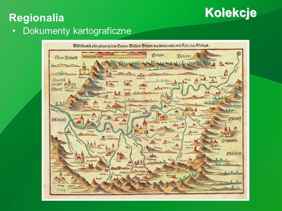 Dokumenty kartograficzne Kolekcje Kolekcje Regionalia