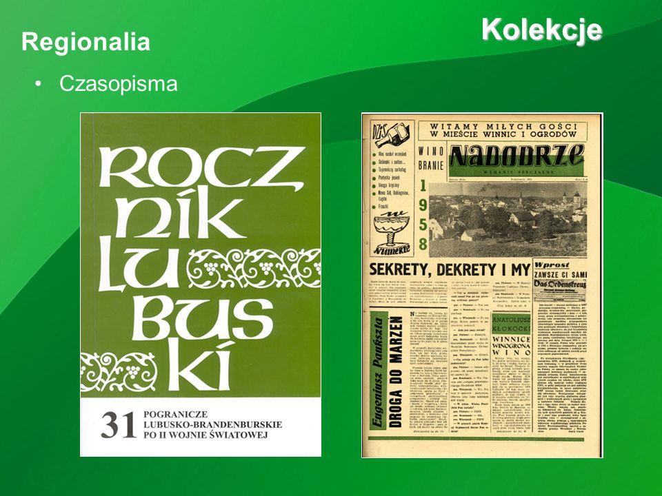 Czasopisma Kolekcje Kolekcje Regionalia