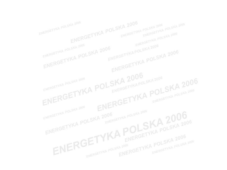 WYNIKI I WSKAŹNIKI FINANSOWE ELEKTROCIEPŁOWNI ZA 2005 ROK W PORÓWNANIACH Z WYNIKAMI I WSKAŹNIKAMI UŚREDNIONYMI SEKTORA I PODSEKTORA