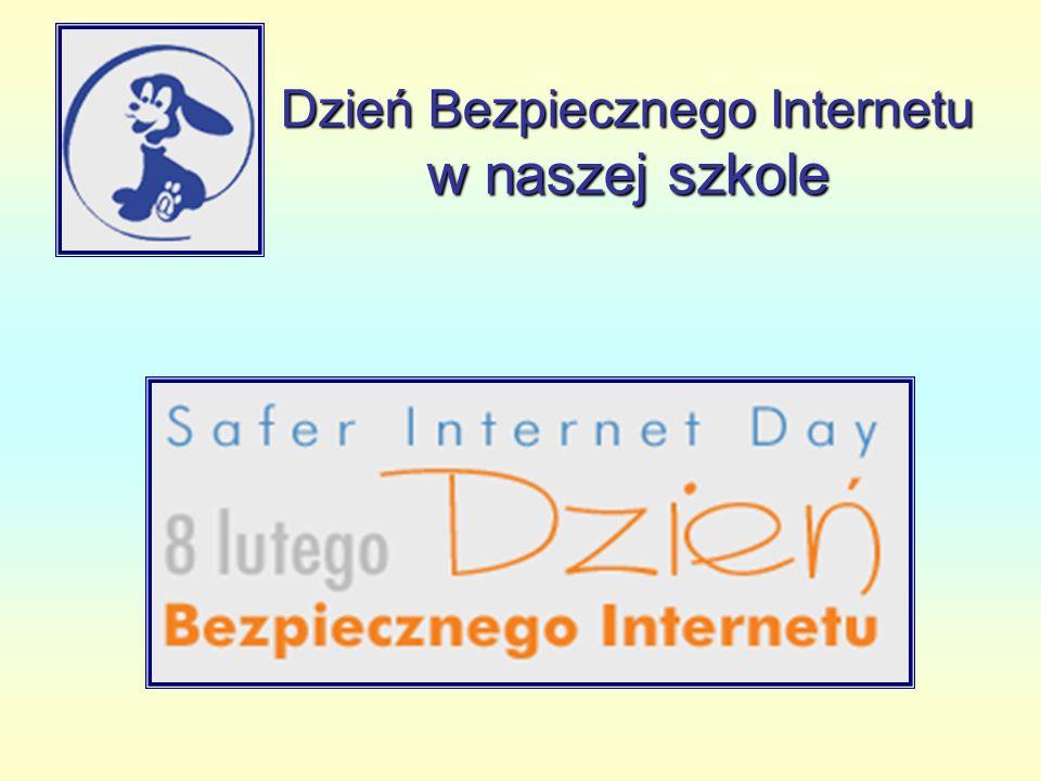 Zasady bezpieczeństwa w Internecie Opracowane przez uczniów klas IV-VI na godzinach wychowawczych w dn.