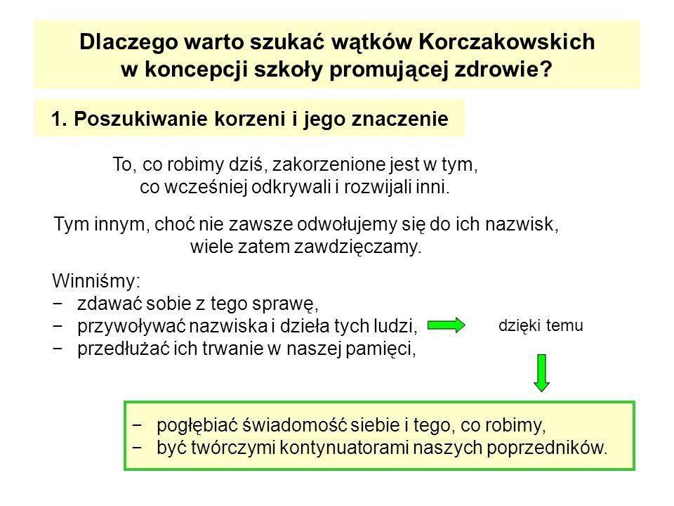 Opracowano na podstawie: Bińczycka J.