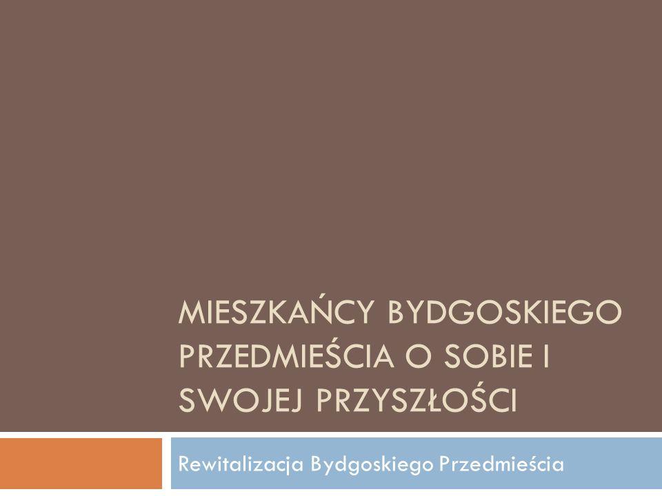 dla Fundacji Stabilo i Porozumienia na rzecz Bydgoskiego Przedmieścia Badanie wykonała Pracownia Badań Soma