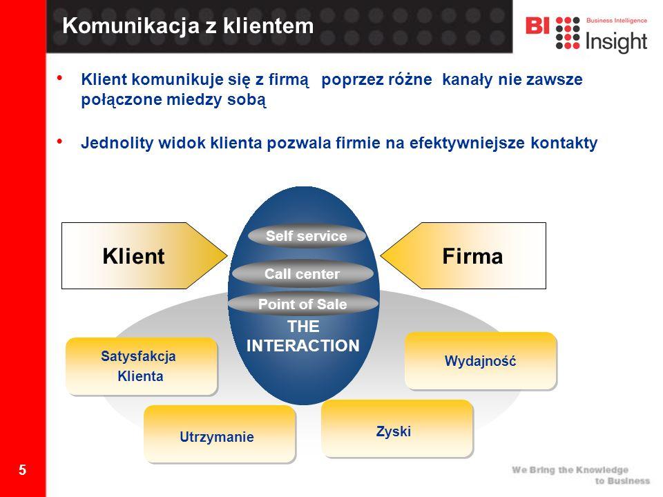 26 Dziękuję za uwagę BI Insight S.A.ul. Połczyńska 31A 01-377 Warszawa Tel.