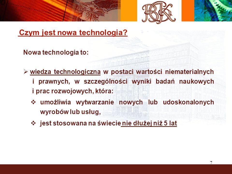 7 Czym jest nowa technologia.