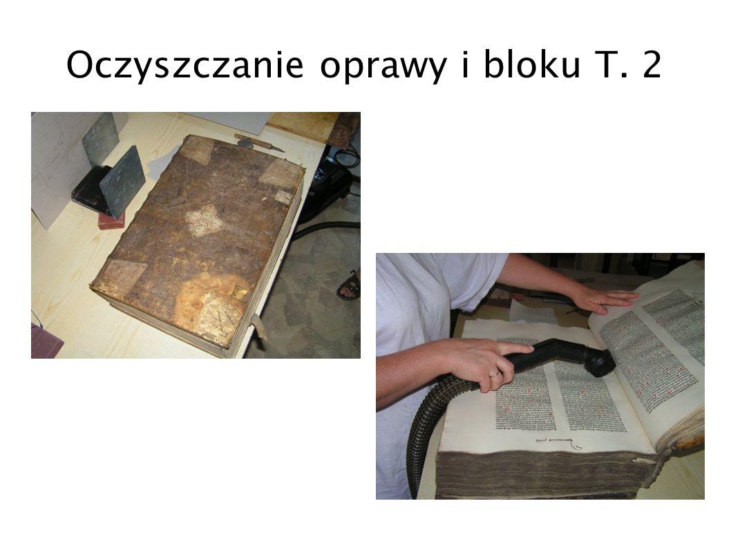 Oczyszczanie oprawy i bloku T. 2