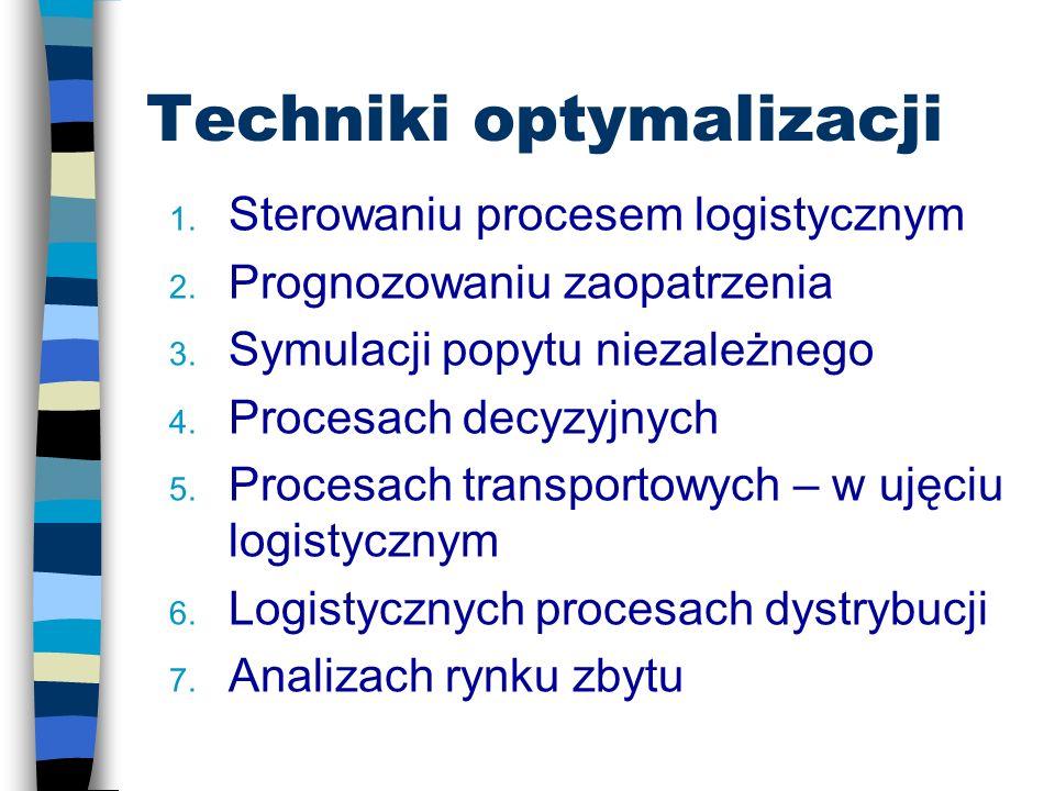 Literatua cd. n Radzikowski W. [1997]: Badania operacyjne w zarządzaniu przedsiębiorstwem, Toruńska Szkoła Zarządzania, Toruń. n Witkowska D. [2000]: