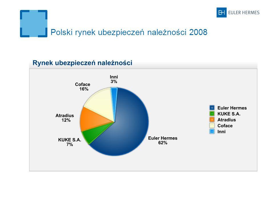Polski rynek ubezpieczeń należności 2008
