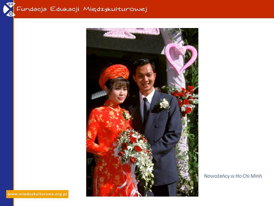 Nowożeńcy w Ho Chi Minh