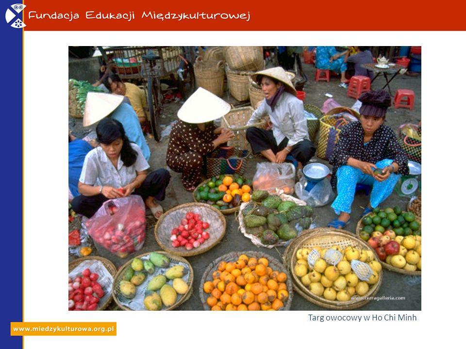 Targ owocowy w Ho Chi Minh